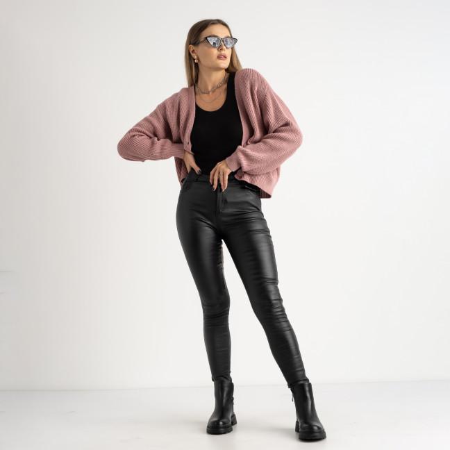 0101-1 XYH черные брюки из экокожи на байке (6 ед.размеры: 25.26.27.28.29.30) XYH: артикул 1125327