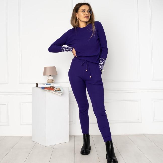 2109-1 M.K.Store фиолетовый спортивный костюм женский (3 ед.размеры: универсал 44-48) M.K.Store: артикул 1125348