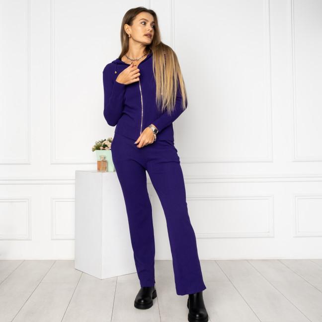 2112-1 M.K.Store фиолетовый спортивный костюм женский (3 ед.размеры: универсал 44-48) M.K.Store: артикул 1125345