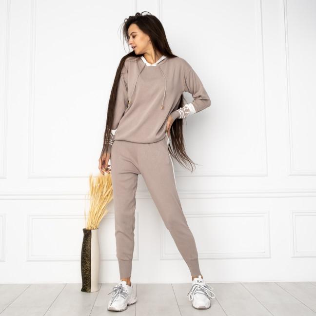 1611-2 M.K.Store серый спортивный костюм женский (3 ед.размеры: универсал 44-48) M.K.Store: артикул 1125245
