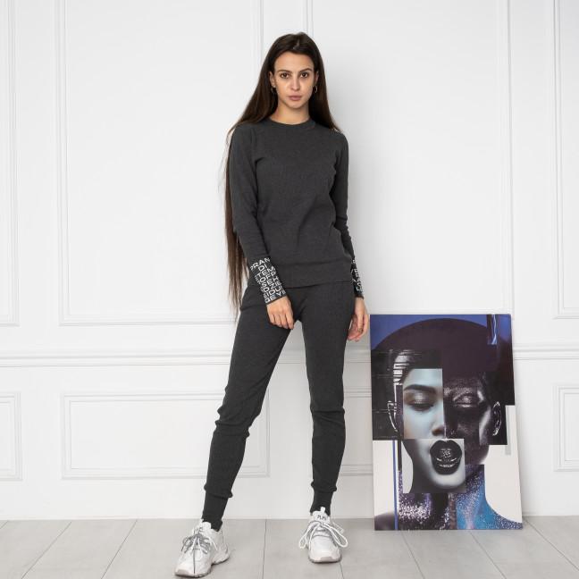 2109-3 M.K.Store серый спортивный костюм женский (3 ед.размеры: универсал 44-48) M.K.Store: артикул 1125351