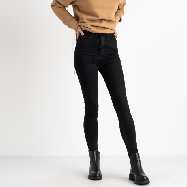 0813 KT.Moss черная американка на байке стрейчевая (6 ед.размеры: 25.26.27.28.29.30) KT.Moss: артикул 1125428