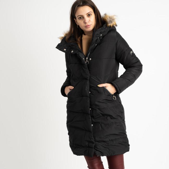 6041-1 Vikstory черная куртка женская на синтепоне ( 4 ед.размеры: 42.44.46.48) Vikstory: артикул 1125401