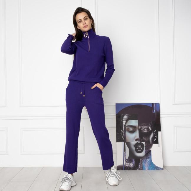 2007-1 M.K.Store фиолетовый спортивный костюм женский (3 ед.размеры: универсал 44-48) M.K.Store: артикул 1125352