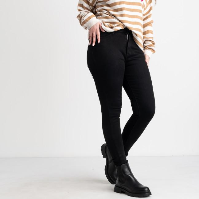 0880 KT.Moss черная американка полубатальная на байке стрейчевая (6 ед.размеры: 28.29.30.31.32.33) KT.Moss: артикул 1125431