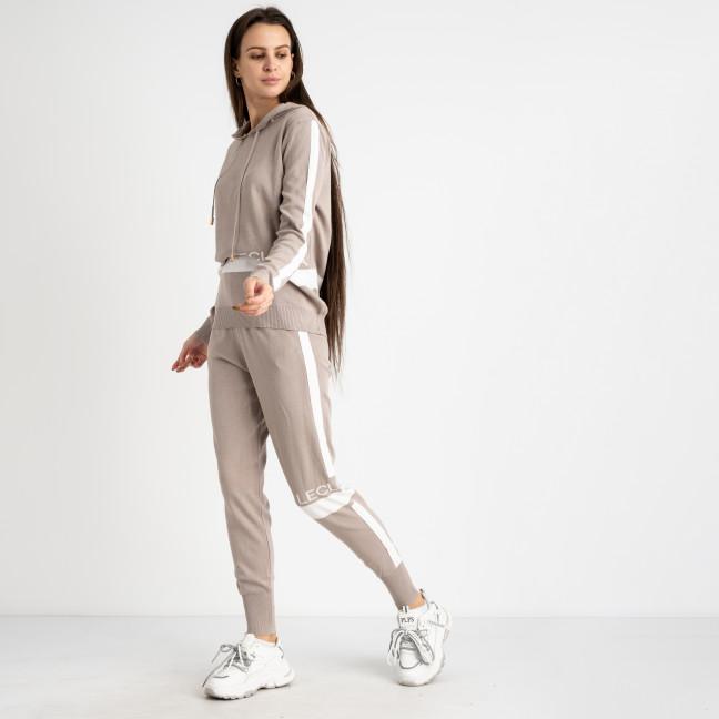 1606-2 M.K.Store бежевый спортивный костюм женский (3 ед.размеры: универсал 44-48) M.K.Store: артикул 1125329