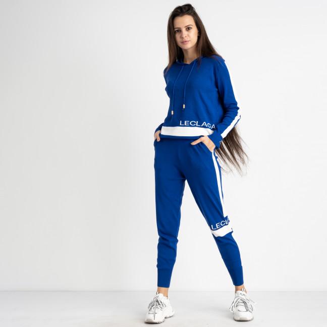 1606-4 M.K.Store синий спортивный костюм женский (3 ед.размеры: универсал 44-48) M.K.Store: артикул 1125331