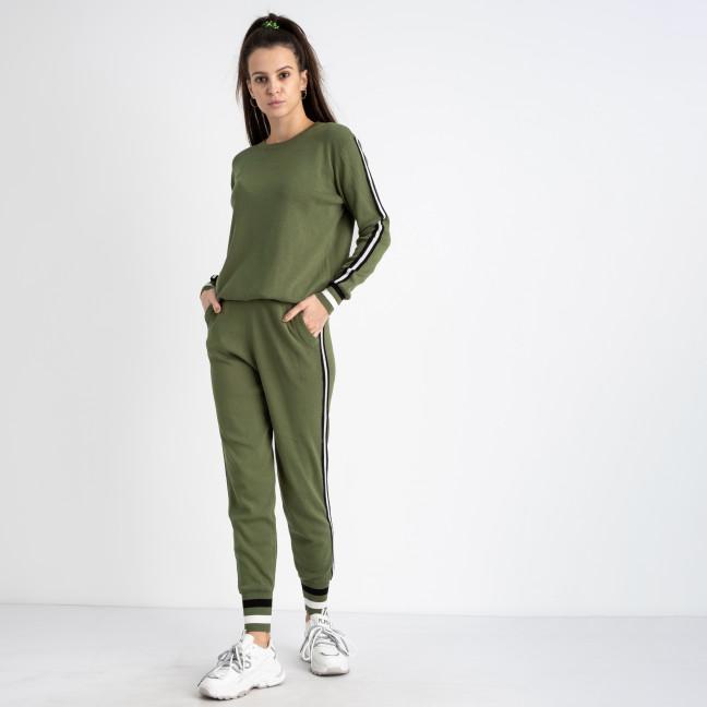 1603-3 M.K.Store зеленый спортивный костюм женский (3 ед.размеры: универсал 44-48) M.K.Store: артикул 1125336