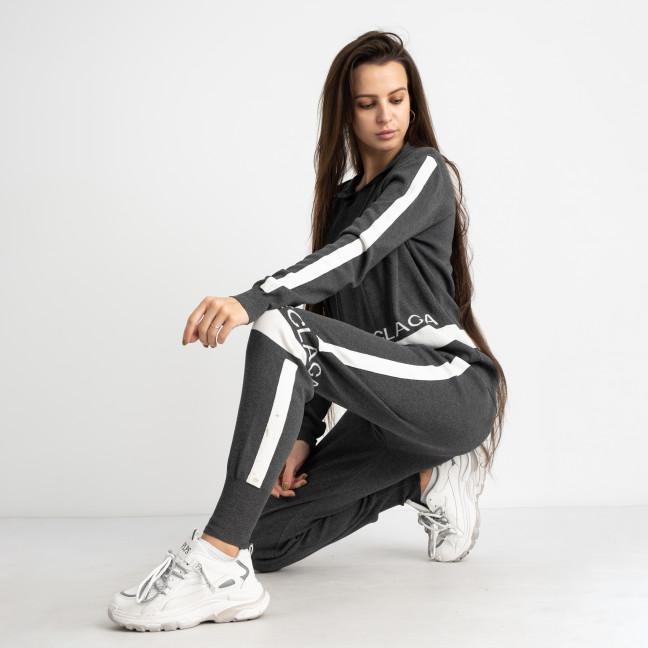1606-1 M.K.Store серый спортивный костюм женский (3 ед.размеры: универсал 44-48) M.K.Store: артикул 1125328