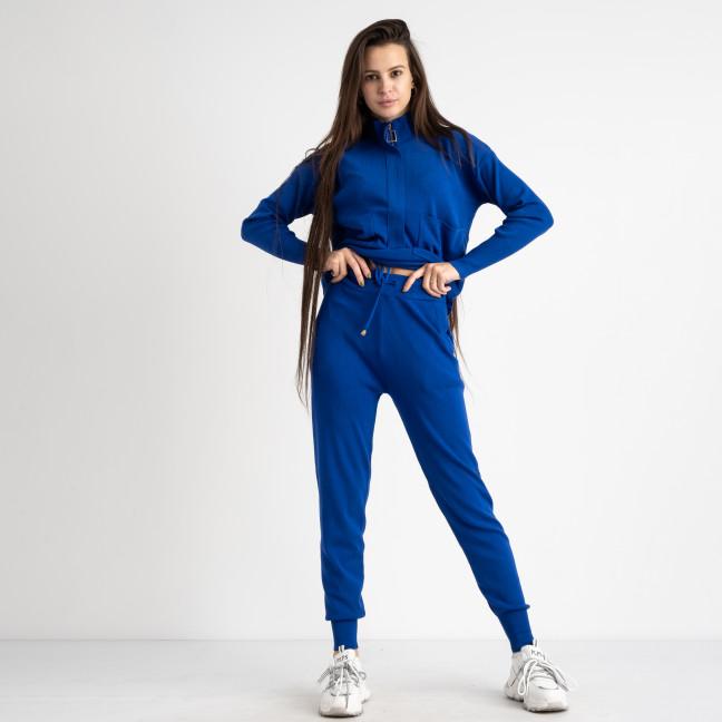 1616-1 M.K.Store синий спортивный костюм женский (3 ед.размеры: универсал 44-48) M.K.Store: артикул 1125339
