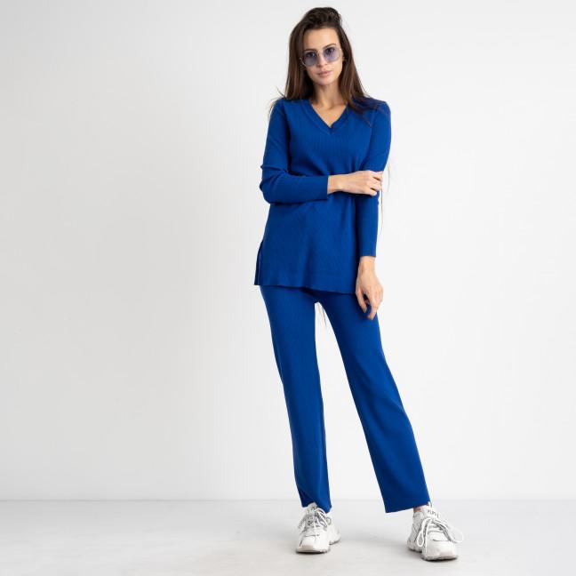 2108-1 M.K Store синий спортивный костюм женский  (3 ед.размеры: универсал 44-48) M.K.Store: артикул 1125453
