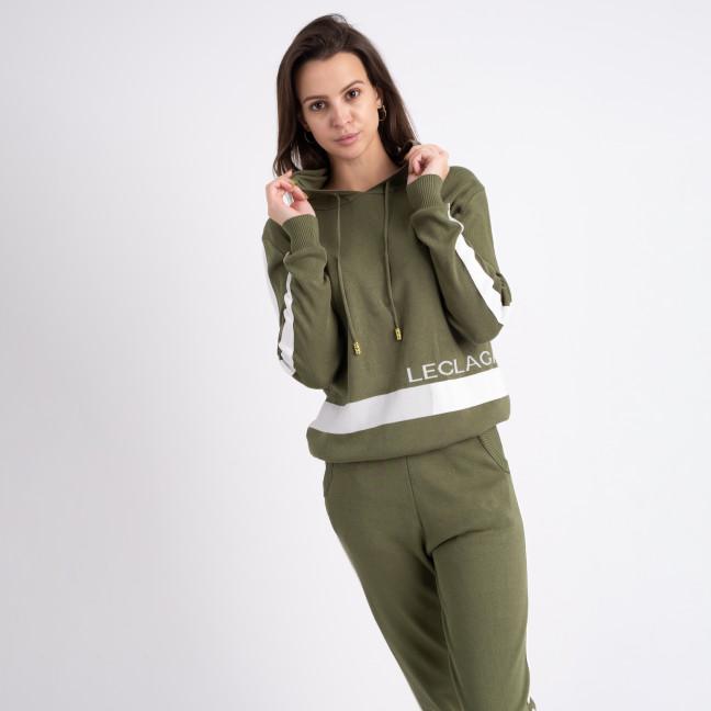 1606-5 M.K.Store зеленый спортивный костюм женский (3 ед.размеры: универсал 44-48) M.K.Store: артикул 1125332