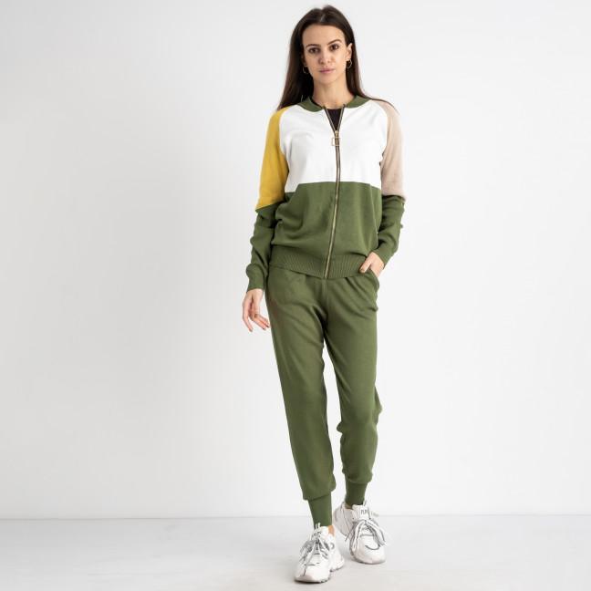 1605-1 M.K.Store желто-зеленый спортивный костюм женский (3 ед.размеры: универсал 44-48) M.K.Store: артикул 1125342