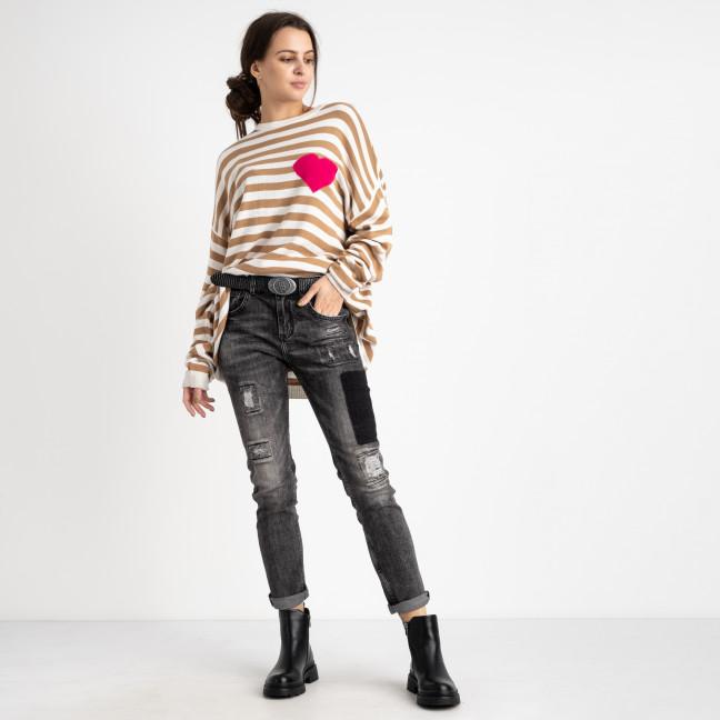 9318 Lolo Blues джинсы женские серые стрейчевые (5 ед. размеры: 25.27.28.29.30) Lolo Blues: артикул 1125504