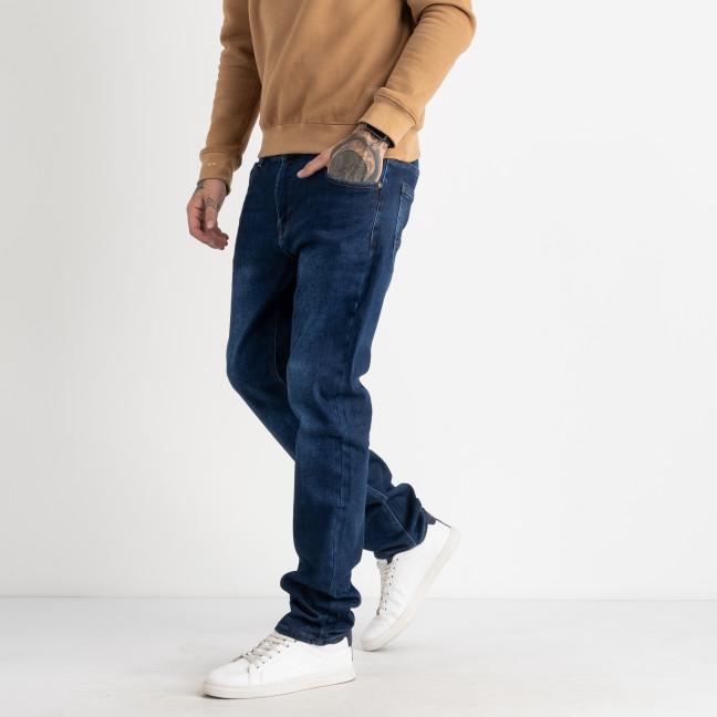 9976 God Baron  джинсы мужские батальные синие стрейчевые  (8 ед. размеры: 34/3.36/3.38/2) God Baron: артикул 1125536