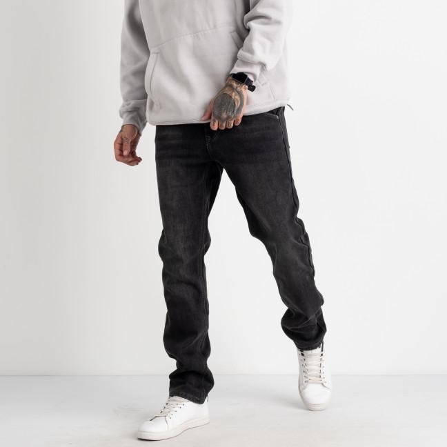 2159 V.J.Ray джинсы мужские на флисе серые стрейчевые  (8 ед. размеры: 29.30.31.32.33.34.36.38) V.J.Ray: артикул 1125534