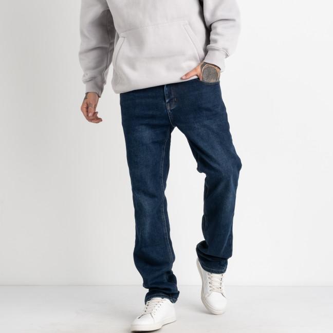 9980 God Baron джинсы мужские на байке синие стрейчевые  (8 ед. размеры: 29.30.31.32.33.34.36.38) God Baron: артикул 1125532