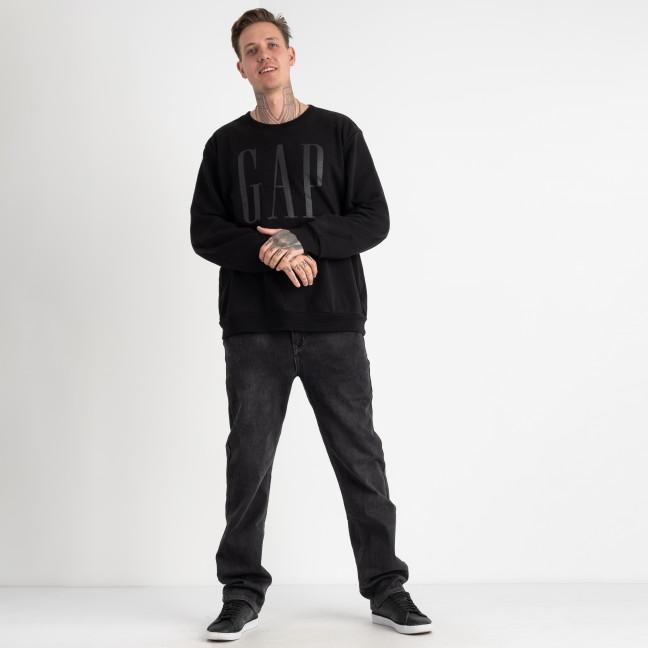 2162 V.J.Ray джинсы мужские батальные на флисе серые стрейчевые  (8 ед. размеры: 34/3.36/3.38/2) V.J.Ray: артикул 1125540