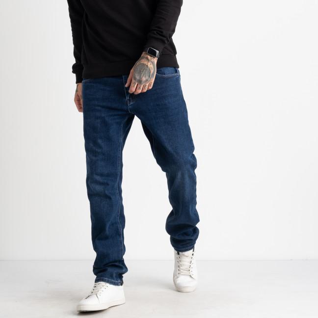 9975 God Baron джинсы мужские на байке синие стрейчевые  (8 ед. размеры: 29.30.31.32.33.34.36.38) God Baron: артикул 1125531