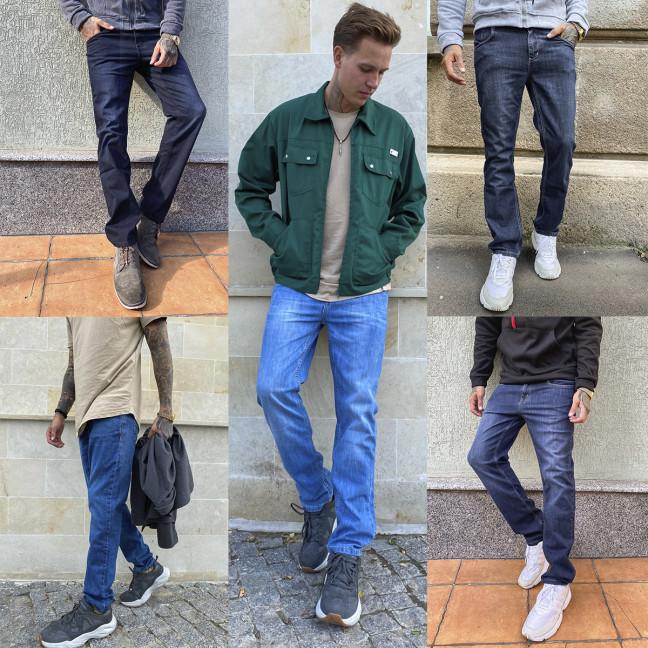 4048-1 Big&Grays микс мужских джинсов (30,32,34,34,36,38, 6 ед.) Big&Grays: артикул 1115631