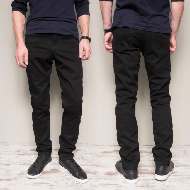 5016 Dsouaviet джинсы мужские черные на флисе стрейчевые (8 ед. размеры: 29.30.31.32.33.34.36.38) Dsouaviet: артикул 1115320