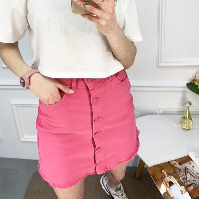0401 Arox юбка розовая котоновая (4 ед. размеры: 34.36.38.40) Arox: артикул 1120210