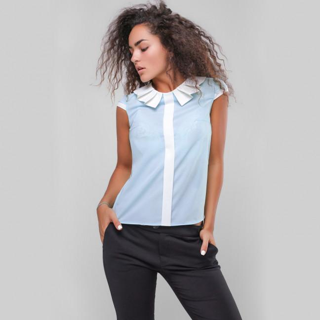 2718 блузка женская из креп-шифона (42-48, 4 ед.) Блузка: артикул 1108359