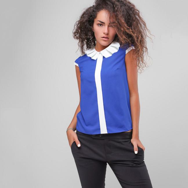 2710 блузка женская из креп-шифона (42-48, 4 ед.) Блузка: артикул 1108352