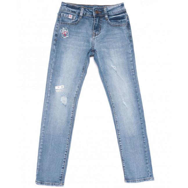 0097 Little Star джинсы на девочку синие весенние стрейчевые (23-28, 6 ед.) Little Star: артикул 1105110