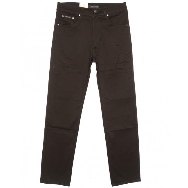 9022 LS джинсы мужские коричневые весенние стрейчевые (31-38, 8 ед.) LS: артикул 1105170