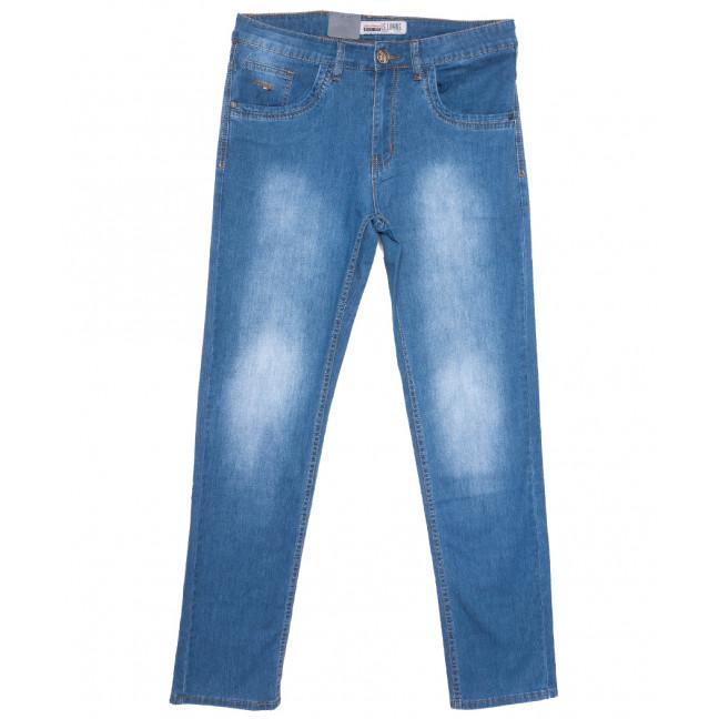 1092-D LS джинсы мужские полубатальные синие весенние стрейчевые (32-42, 8 ед.) LS: артикул 1105175