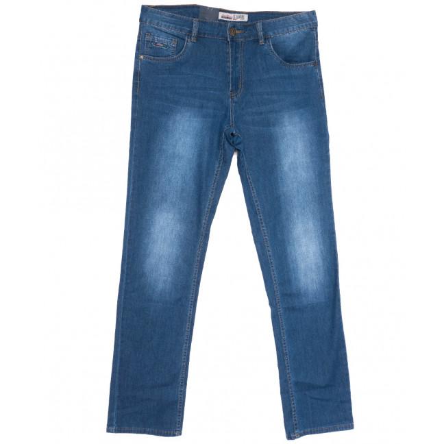 1087 LS джинсы мужские полубатальные синие весенние стрейчевые (32-38, 8 ед.) LS: артикул 1105187