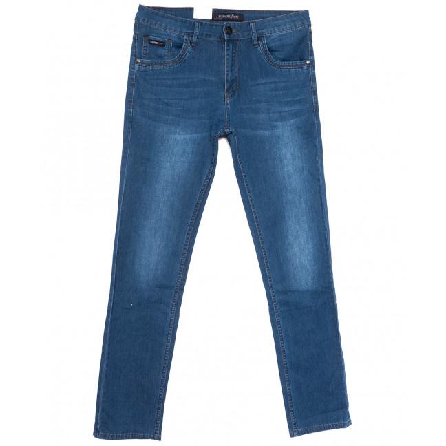 1073 LS джинсы мужские полубатальные синие весенние стрейчевые (32-38, 8 ед.) LS: артикул 1105181