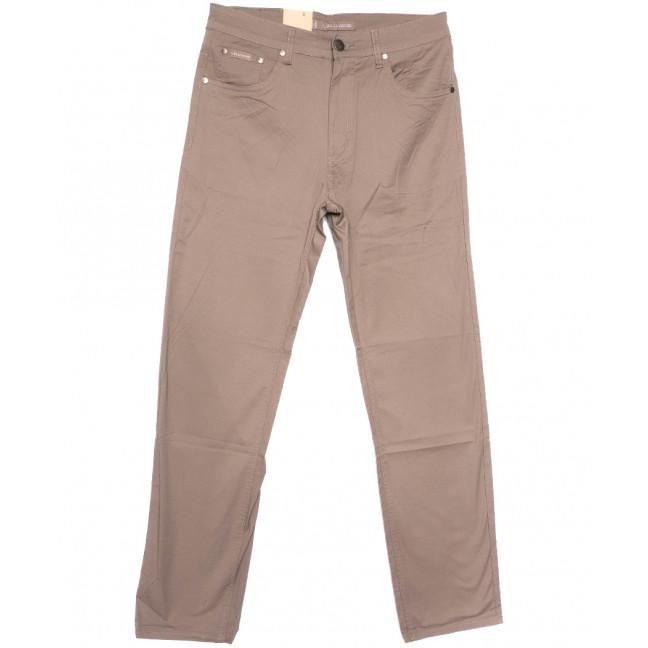 9017-D LS джинсы мужские батальные бежевые весенние стрейчевые (34-44, 8 ед.) LS: артикул 1105177
