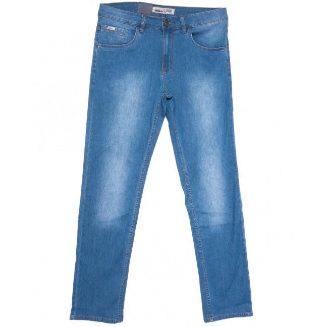 1091-D LS джинсы мужские полубатальные синие весенние стрейчевые (32-42, 8 ед.) LS: артикул 1105185