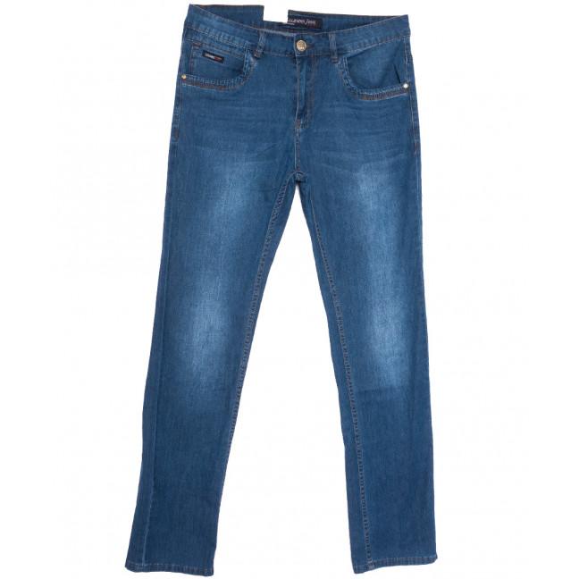 1077 LS джинсы мужские синие весенние стрейчевые (29-38, 8 ед.) LS: артикул 1105186