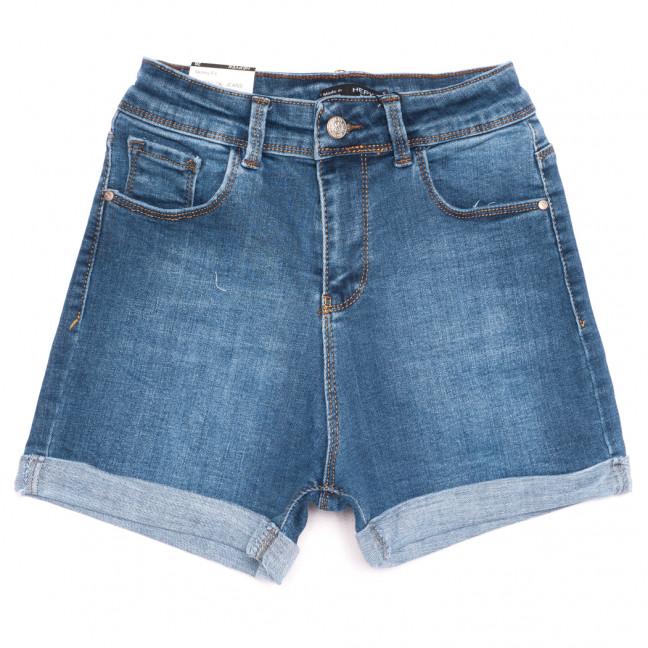 5834 синие Hepyek шорты джинсовые женские стрейчевые (26-31, 6 ед.) Hepyek: артикул 1110880