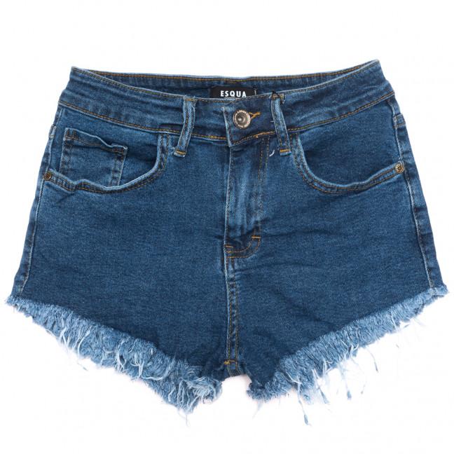1506 Esqua шорты джинсовые женские синие стрейчевые (25-30, 6 ед.) Esqua: артикул 1110883