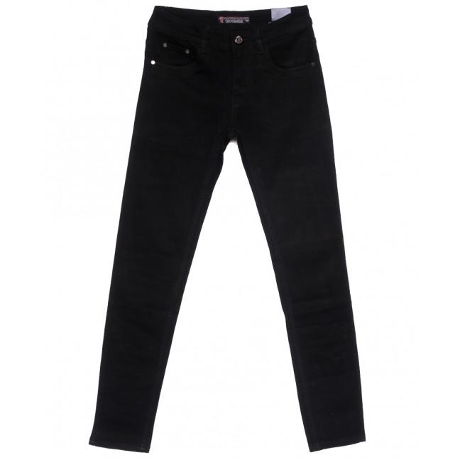 6301 Crossnese джинсы мужские молодежные черные весенние стрейчевые (28-34, 8 ед.) Crossnese: артикул 1110912
