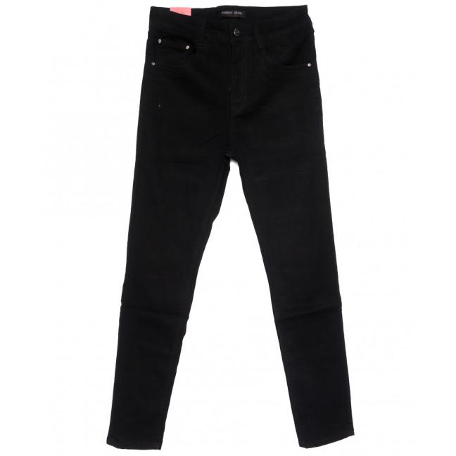 5216 Forest Jeans американка батальная черная осенняя стрейчевая (30-36, 6 ед.) Forest Jeans: артикул 1110917