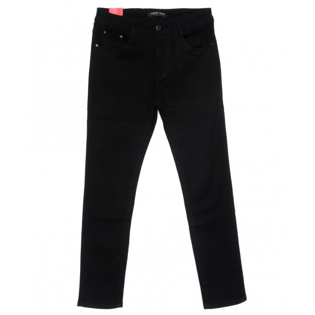 5201 Forest Jeans американка батальная черная осенняя стрейчевая (30-36, 6 ед.) Forest Jeans: артикул 1110920