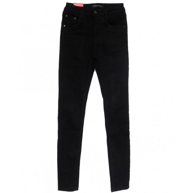 5206 Forest Jeans американка черная весенняя стрейчевая (25-30, 6 ед.) Forest Jeans: артикул 1110923