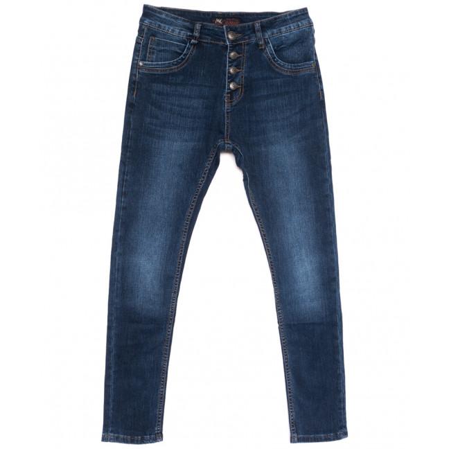 0083 Mrs.King джинсы женские полубатальные синие осенние стрейчевые (28-33, 6 ед.) Mrs.King: артикул 1110911