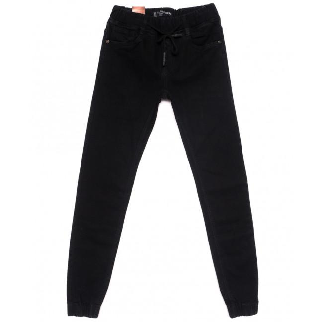 2173 Crossnese джинсы мужские молодежные на резинке черные весенние стрейчевые (27-34, 8 ед.) Crossnese: артикул 1110913