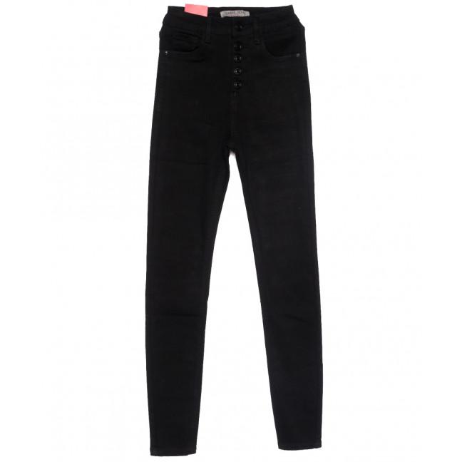 5208 Forest Jeans американка на пуговицах черная осенняя стрейчевая (25-30, 6 ед.) Forest Jeans: артикул 1110921