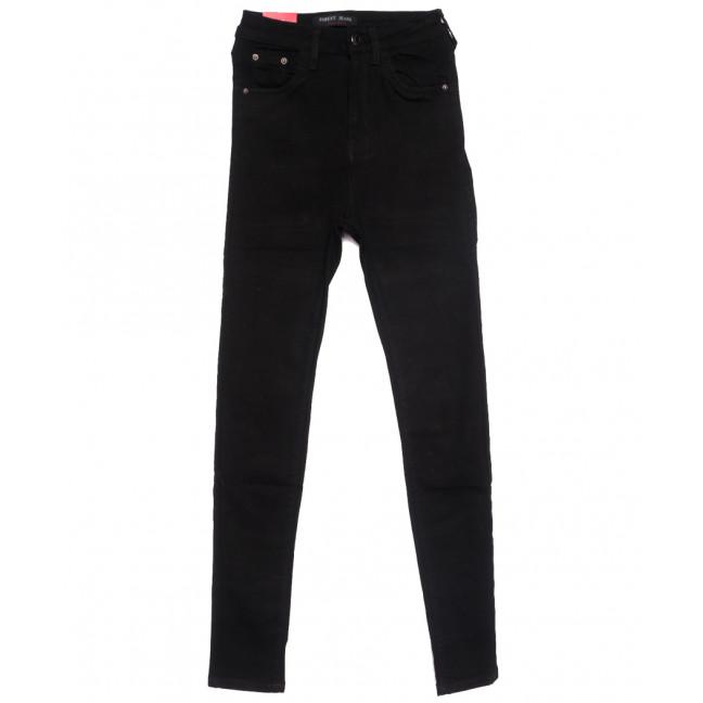 5209 Forest Jeans американка черная весенняя стрейчевая (25-30, 6 ед.) Forest Jeans: артикул 1110925