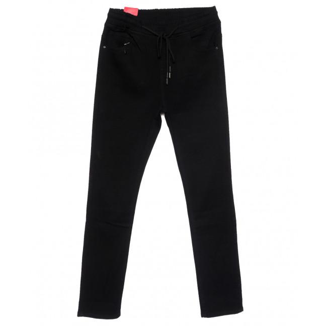 5205 Forest Jeans джинсы женские батальные на резинке черные стрейчевые (31-38, 6 ед.) Forest Jeans: артикул 1110919