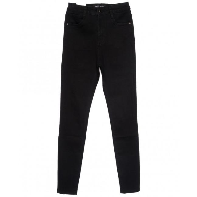 0305 Forest Jeans американка полубатальная черная весенняя стрейчевая (28-33, 6 ед.) Forest Jeans: артикул 1110927