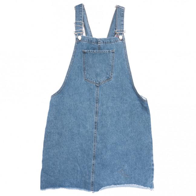 3521 Xray сарафан джинсовый батальный синий весенний коттоновый (42-48,евро, 6 ед.) XRAY: артикул 1110965