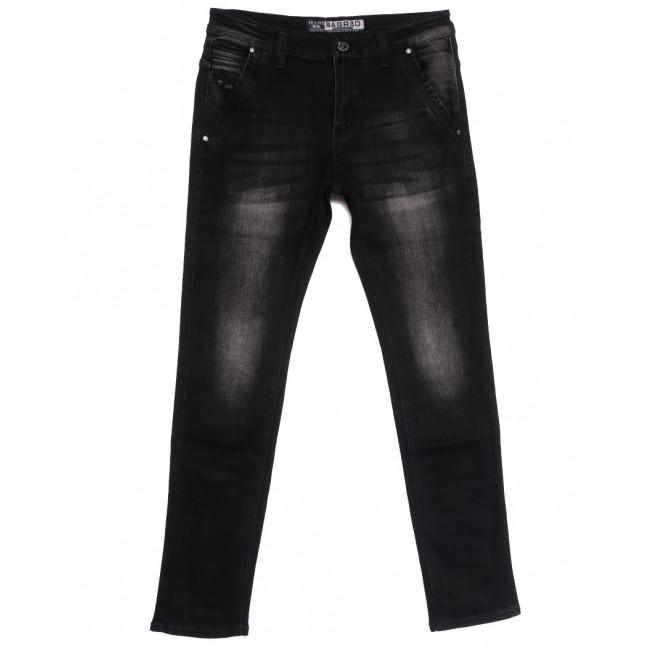 1503 Bagrbo джинсы мужские молодежные темно-серые осенние стрейчевые (28-36, 8 ед.) Bagrbo: артикул 1110999